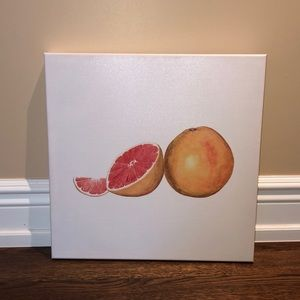 Wall decor. Grape fruit.